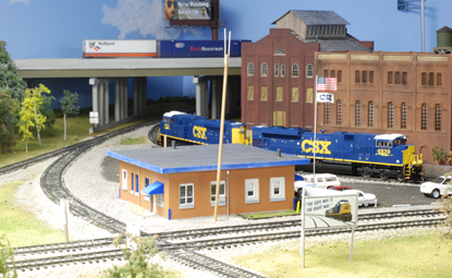 CSX Plymouth Subdivision in H0 Scale